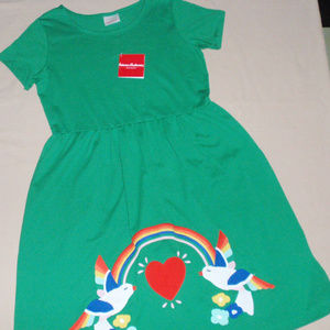 NWT Hanna Andersson Applique Dress 160 14